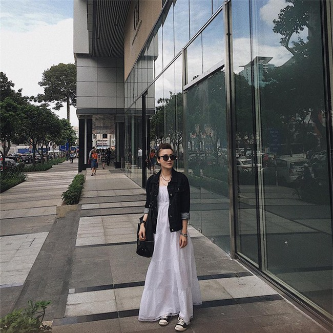 Kỳ Duyên, Ngọc Trinh rủ nhau diện đồ trễ nải trong street style tuần này - Ảnh 19.