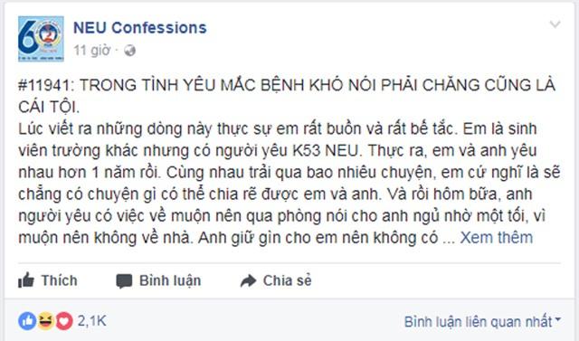"ban trai cham dut moi tinh mot nam chi vi co gai mac ""benh kho noi"" khi ngu - 1"