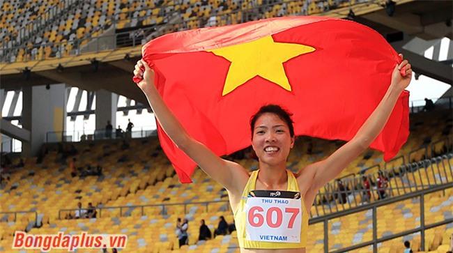 Liên tiếp giành vàng, điền kinh Việt Nam thống trị SEA Games 29