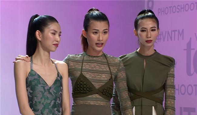 Cao Thiên Trang quát giám khảo Next Top: 3 anh chị lấy tư cách gì mà chửi tôi?-2