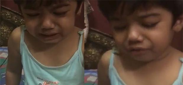 """Bé gái bị tát khi học toán, khóc lóc trong sợ hãi """"xin làm ơn nhẹ tay với con"""" - Ảnh 1."""