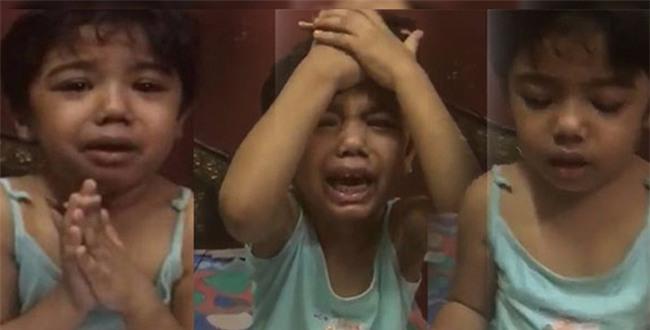 """Bé gái bị tát khi học toán, khóc lóc trong sợ hãi """"xin làm ơn nhẹ tay với con"""" - Ảnh 3."""