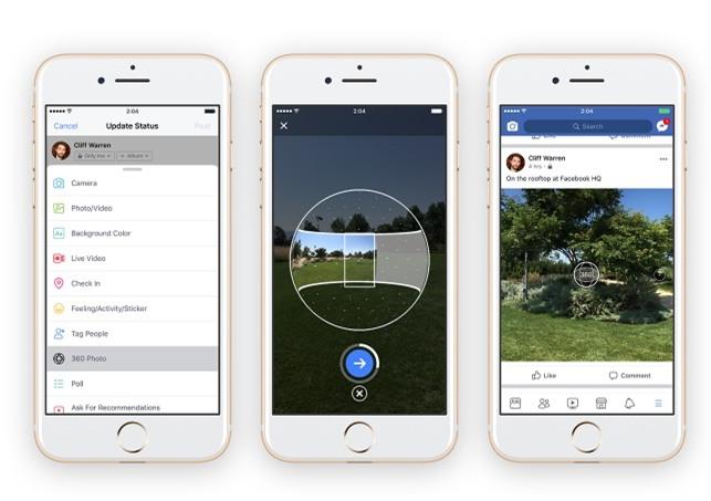 Facebook, Mạng xã hội, Camera 360