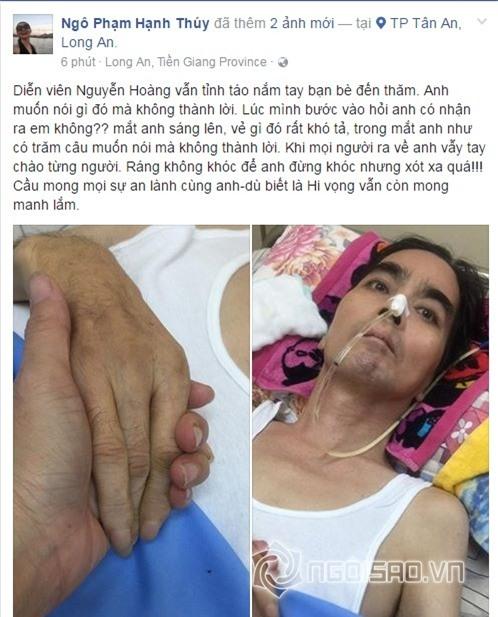Nguyễn Hoàng, diễn viên Nguyễn Hoàng, Nguyễn Hoàng bị tai biến