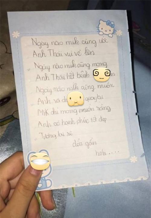 Anh trai thất tình, em gái 9 tuổi viết nhật ký thương anh hết sức - Ảnh 2.