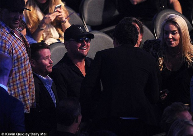 Di Caprio, J-Lo và dàn sao khủng đến xem trận Mayweather - McGregor - Ảnh 2.