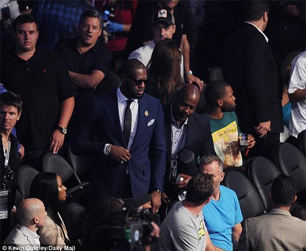 Di Caprio, J-Lo và dàn sao khủng đến xem trận Mayweather - McGregor - Ảnh 9.