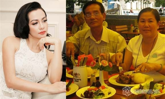 Ngọc Thúy, siêu mẫu Ngọc Thúy, Ngọc Thúy và bố mẹ,chuyện làng sao,sao Việt