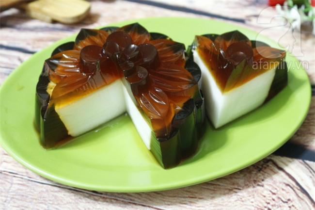Bánh Trung thu rau câu cà phê nhân sữa dừa - món ngon không thể bỏ qua - Ảnh 7.