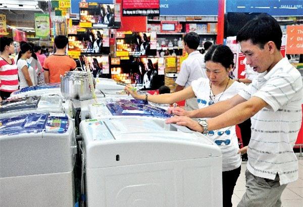 Thị trường điện máy, siêu thị điện máy