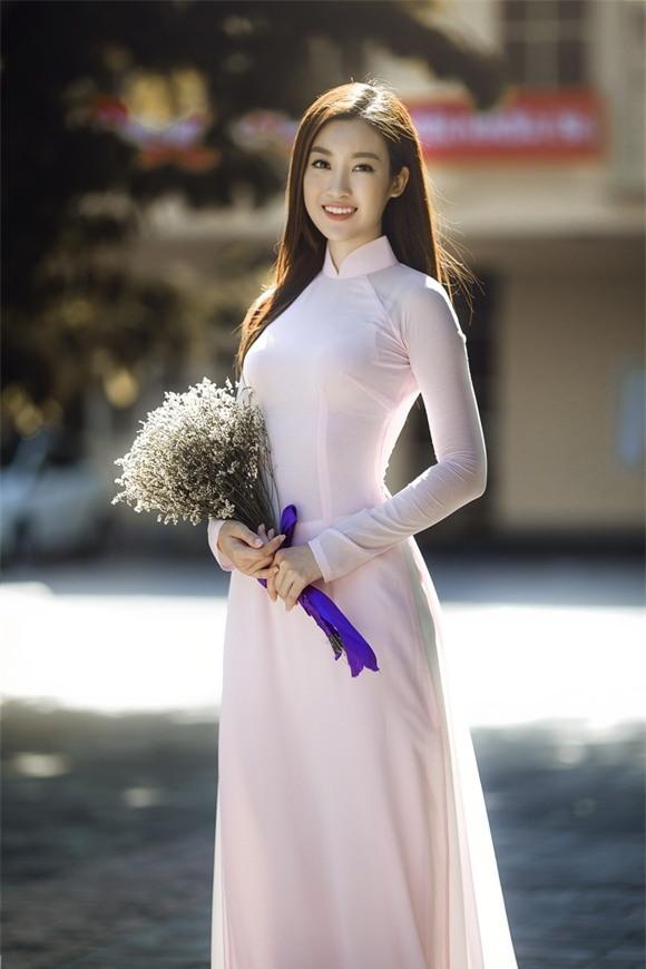 Hoa hậu mỹ linh,hoa hậu việt nam 2016,mỹ linh chụp kỷ yếu,Hoa hậu