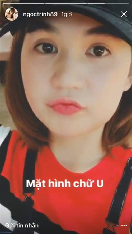 Hoá ra đây là lý do khiến Ngọc Trinh phải dùng icon che mặt, không dám lộ diện trên facebook - Ảnh 2.