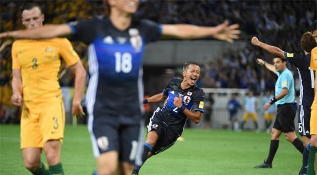Nhật Bản vượt qua Australia để giành vé dự VCK World Cup 2018