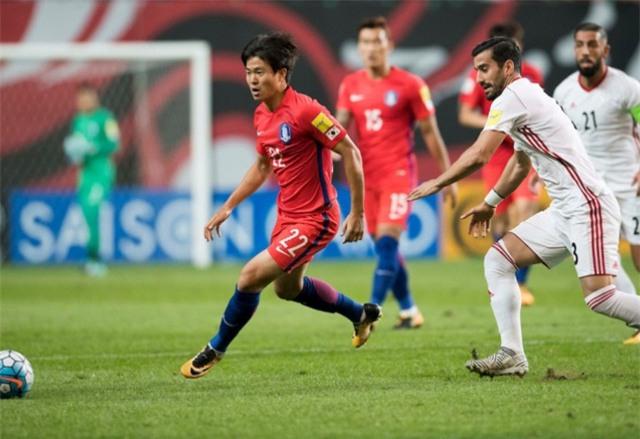Hàn Quốc bị Iran cầm hoà không bàn thắng