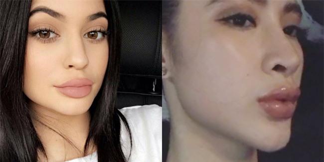 Không chỉ phong cách, môi của Angela Phương Trinh cũng biến thành Kylie Jenner mất rồi - Ảnh 3.