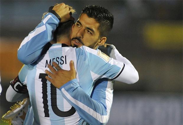 Messi tịt ngòi, Argentina hòa không bàn thắng trên sân của Uruguay - Ảnh 3.