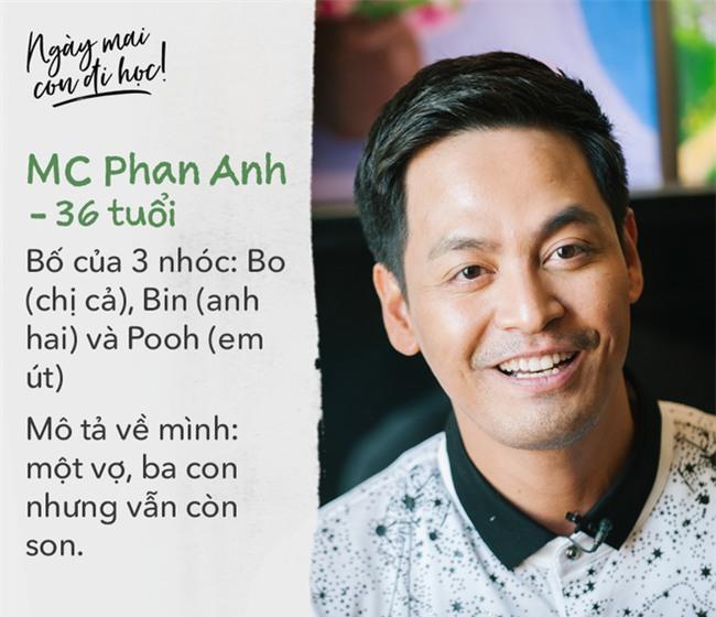 """Ngày con tựu trường trong mắt MC Phan Anh: """"Chuyện thường ấy mà, lo gì!"""" - Ảnh 1."""