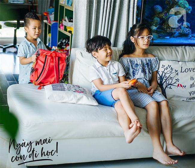 """Ngày con tựu trường trong mắt MC Phan Anh: """"Chuyện thường ấy mà, lo gì!"""" - Ảnh 3."""