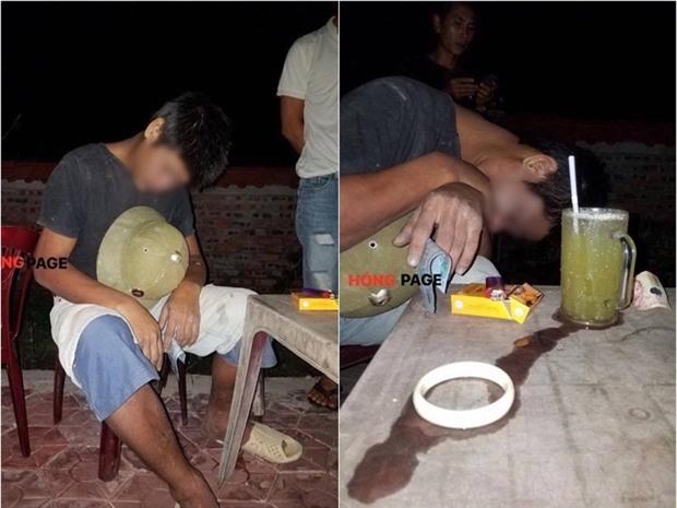 Phú Thọ: Đến quán gọi cốc nước mía chưa kịp uống, người đàn ông bất ngờ đột tử trong tư thế ngồi - Ảnh 1.