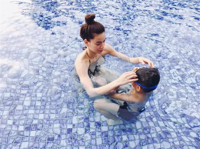Hồ Ngọc Hà nóng bỏng khi nghỉ dưỡng tại Đà Nẵng - Ảnh 6.