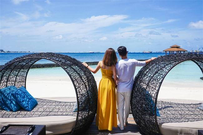 """Hường Chuối – Hotmom 9x cùng bạn trai giấu mặt ngao du """"Thiên đường Maldives"""" hết 85 triệu - Ảnh 7."""