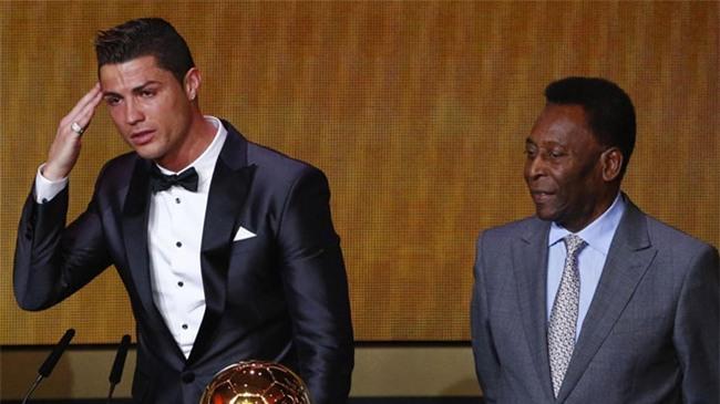 Pele thach thuc Ronaldo ghi hon 1.283 ban thang hinh anh 1