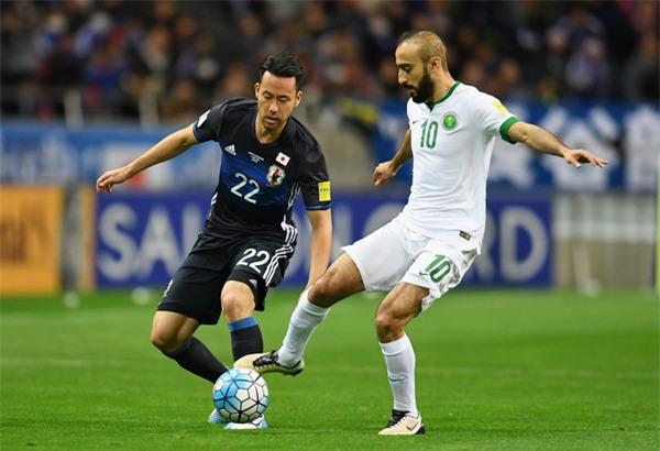 Saudi Arabia thắng Nhật Bản 1-0 và giành vé dự World Cup 2018