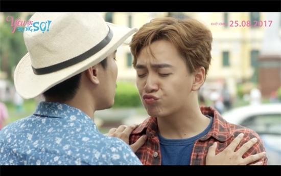 Kiều Minh Tuấn cảm thấy bị xúc phạm khi phải hôn Ngô Kiến Huy-4
