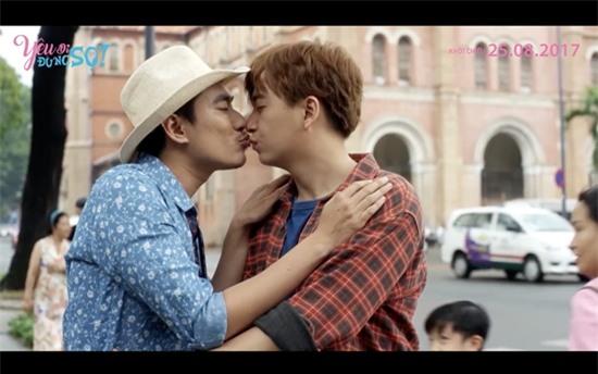 Kiều Minh Tuấn cảm thấy bị xúc phạm khi phải hôn Ngô Kiến Huy-5