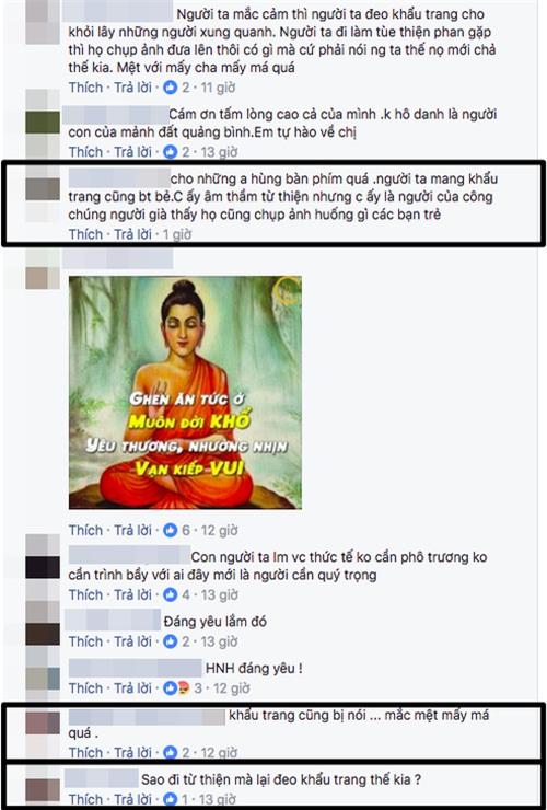 Hà Hồ bức xúc đáp trả khi bị chỉ trích vì đi từ thiện mà đeo khẩu trang - Ảnh 3.