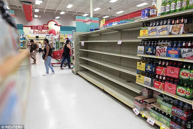 Bão mạnh nhất trên Đại Tây Dương chuẩn bị đổ bộ, người dân Mỹ quét sạch các siêu thị để chuẩn bị ứng phó - Ảnh 9.