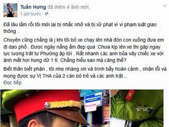 Bat ngo truoc ung xu cua Ngoc Lan, Ha Ho va loat sao Viet khi vi pham luat giao thong