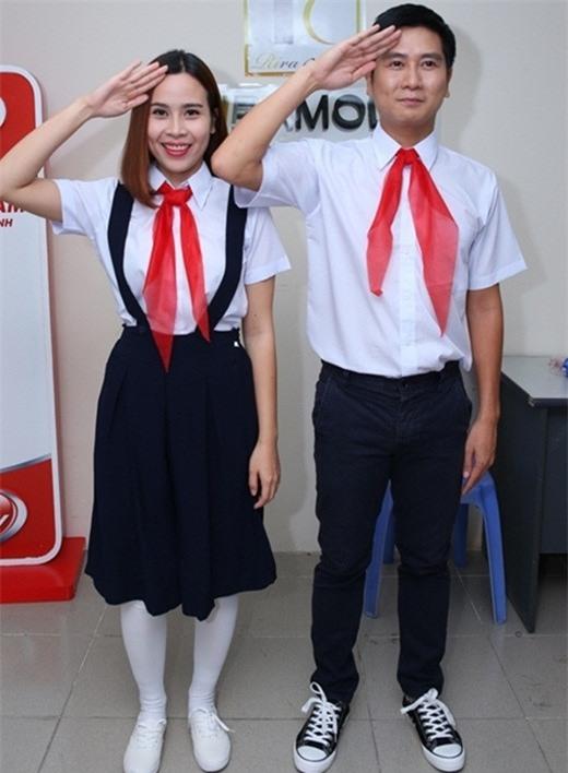 Sao Việt cưa sừng với đồng phục học sinh: Người trẻ măng tơ, kẻ già trước tuổi-5