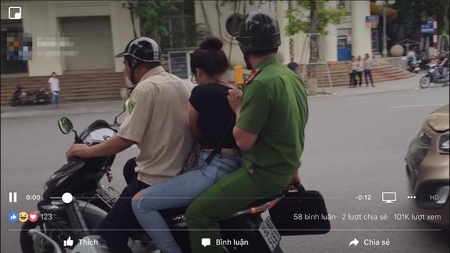 Hà Nội: Hotgirl bán tăm giá cắt cổ ở hồ Hoàn Kiếm bị đưa lên Công an phường - Ảnh 2.