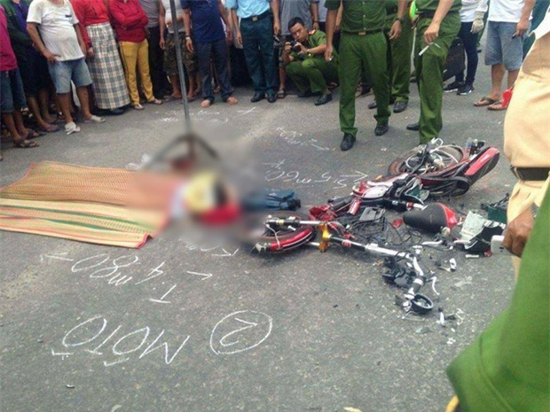 Đà Nẵng: Xe tải va chạm với xe đạp điện, nữ sinh lớp 8 chết thảm - Ảnh 2.