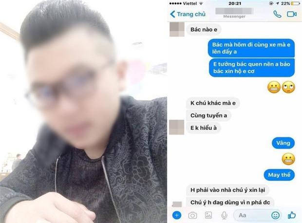 Gạ tình cô gái trẻ không thành, tên cướp quay sang cướp iPhone còn nhắn tin đòi xin tài khoản iCloud - Ảnh 3.