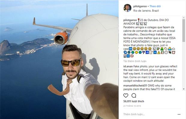 Sự thật đằng sau những tấm hình selfie giữa bầu trời gây sốt Internet sẽ khiến bạn cảm thấy... bị lừa - Ảnh 1.