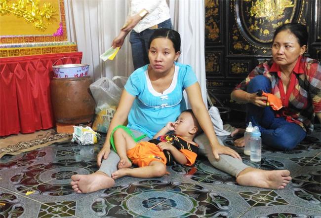 """Mẹ chiến sĩ chữa cháy hi sinh khi đang dập lửa ở Sài Gòn: """"Nó còn chưa kịp đặt tên cho con"""" - Ảnh 9."""