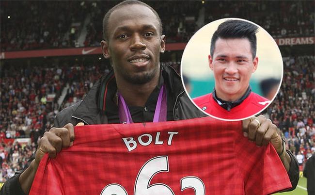 Xuất hiện hoành tráng, Usain Bolt bị đánh giá thấp hơn cả... Công Vinh