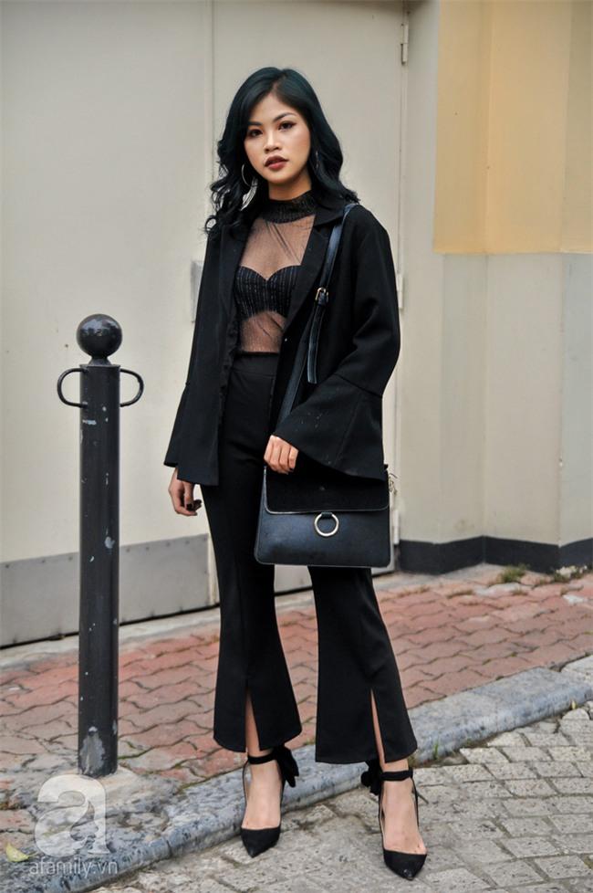 Thời tiết ẩm ương nhưng các quý cô miền Bắc vẫn mặc đẹp hết sảy trong street style tuần này - Ảnh 3.