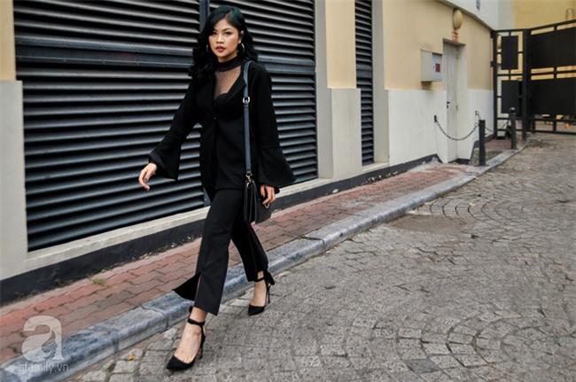 Thời tiết ẩm ương nhưng các quý cô miền Bắc vẫn mặc đẹp hết sảy trong street style tuần này - Ảnh 4.