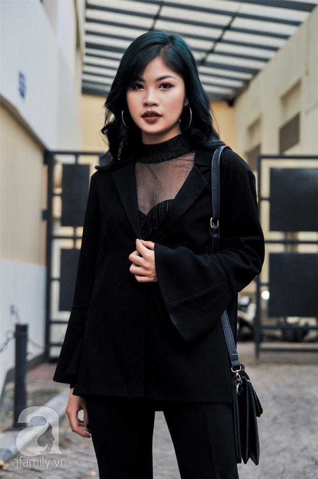 Thời tiết ẩm ương nhưng các quý cô miền Bắc vẫn mặc đẹp hết sảy trong street style tuần này - Ảnh 5.