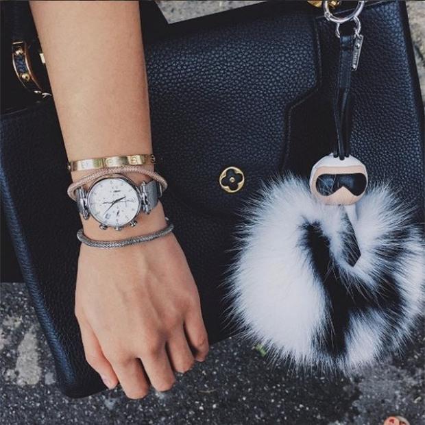 Kỳ Duyên gây chú ý khi khoe đồng hồ mới trị giá hơn 600 triệu đồng - Ảnh 6.