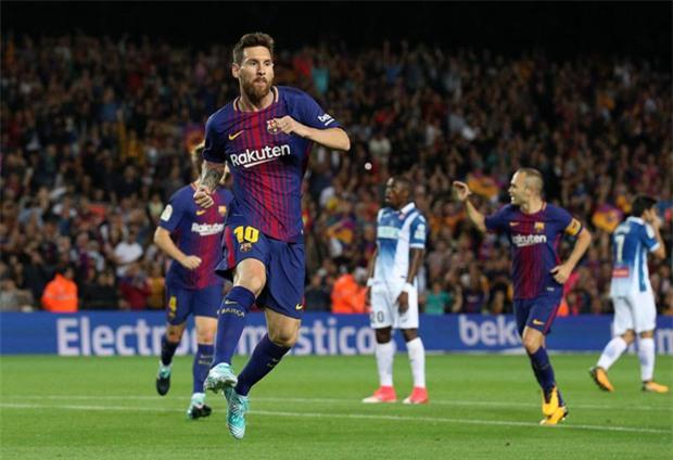Messi lập hat-trick, Barca thắng 5 sao để hơn Real 4 điểm - Ảnh 4.