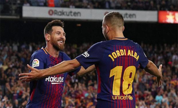 Messi lập hat-trick, Barca thắng 5 sao để hơn Real 4 điểm - Ảnh 5.