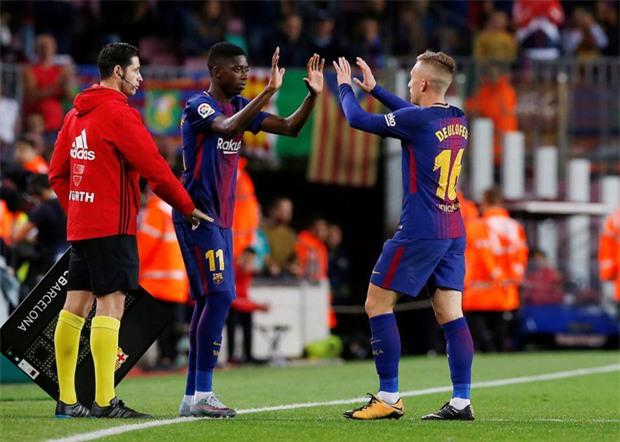 Messi lập hat-trick, Barca thắng 5 sao để hơn Real 4 điểm - Ảnh 8.