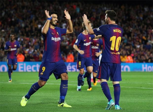 Messi lập hat-trick, Barca thắng 5 sao để hơn Real 4 điểm - Ảnh 10.