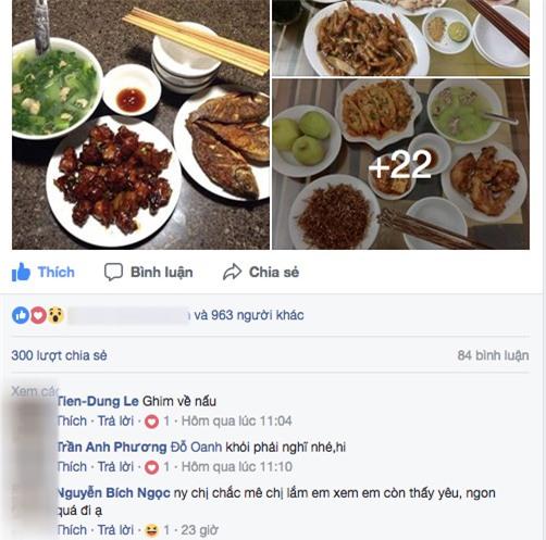 """""""ban gai nha nguoi ta"""" ngay nao cung nau mam com de hue cho chang khien dan tinh ghen ti - 2"""