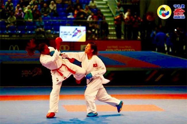 Nguyen Thi Ngoan mang ve HCV lich su cho karatedo Viet Nam hinh anh 1