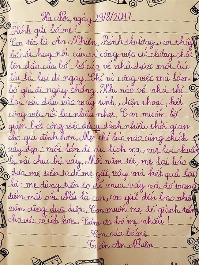 Cứ đi tối ngày vì công việc, cho đến khi nhận được bức thư của con gái, ông bố mới giật mình nhìn lại - Ảnh 1.